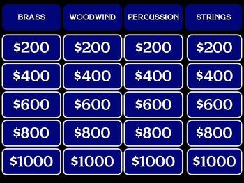 Instrument Jeopardy!