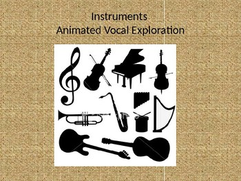 Instrumental Animated Vocal Exploration- Strings