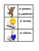 Instrumentos musicales in Spanish games:  Concentration, S