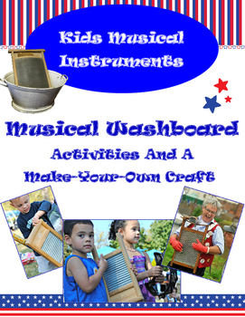 Instruments For Kids – The Musical Washboard - Activities