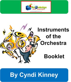 Instruments of the Orchestra Booklet