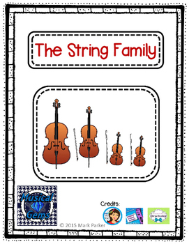 Instruments of the Orchestra, String Family
