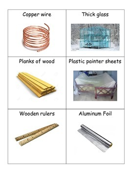 Insulator and Conductor Cards