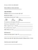 Intake Interview Form