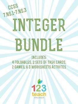 Integer Activity Bundle