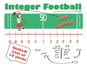 Integer Football - Simulation Activity
