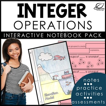 Integer Interactive Notebook and Exit Tickets