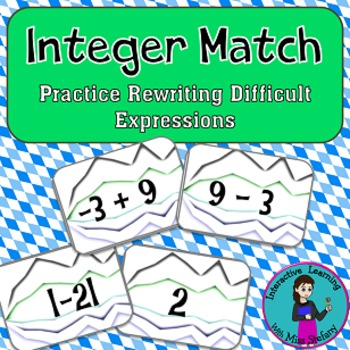 Integer Match {a game of rewriting expressions with integers}