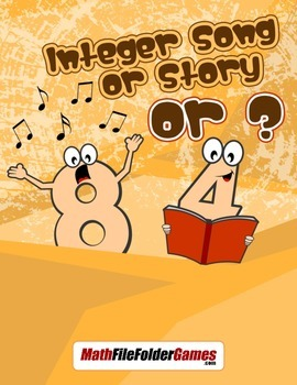 Integer Song or Story or {Integer Activity}