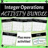 Integer Task Card Bundle