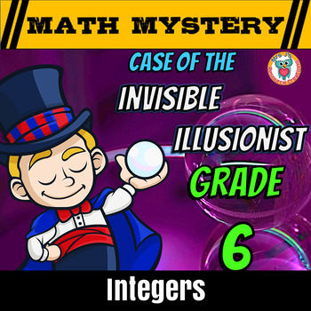 Integers Review Activity --opposites, compare, add, subtra