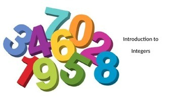 Integers - An Introductory PowerPoint