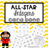 Integers Game Add, Subtract, Multiply, Divide Integers