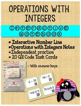 Integers INB and Movable Number Line