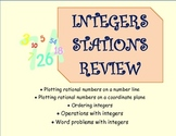 Integers Stations Review ~ Common Core 6.NS 7.NS