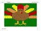 Integers and Order of Operations Thanksgiving Coloring Pic