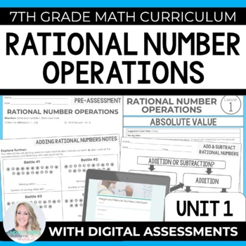 Integers and Rational Numbers Unit