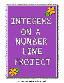 Integers on a Number Line Project