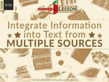 Integrate Information into Text from Multiple Sources