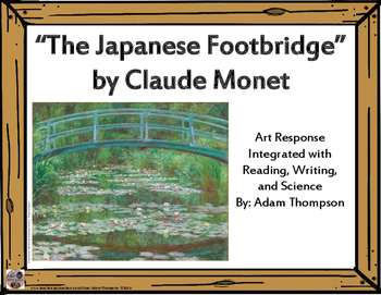"Integrated Art Response: ""The Japanese Footbridge"" by Clau"