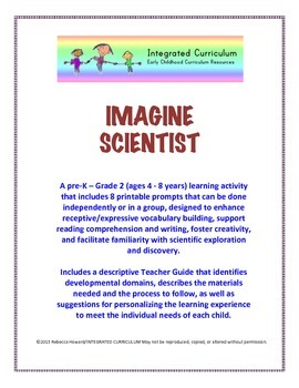 Integrated Curriculum: Imagine Scientist Drawing Activity