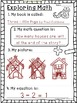 Integrating Literature and Math FREEBIE Whimsy Workshop Teaching
