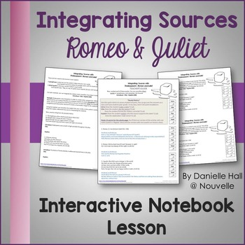 Integrating Sources for Interactive Notebooks - Romeo and