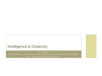 Intelligency & Creativity