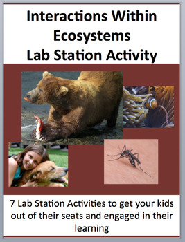 Interactions Within Ecosystems - Biotic and Abiotic - 7 La