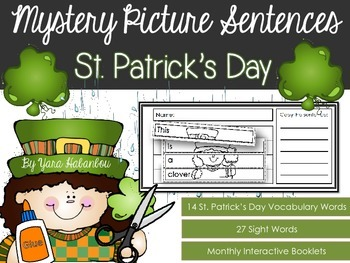 Interactive Activity Booklets {Mystery Picture Sentences S