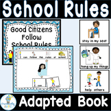 ADAPTED BOOK-School Rules  (Autism/Special Education)