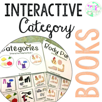 Interactive Adapted Category Books