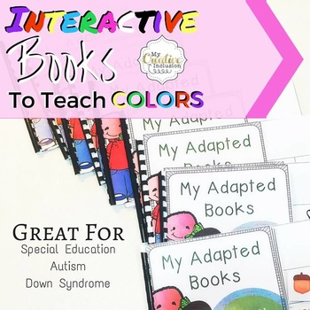 Interactive Adaptive Color Books for Special Education- 11