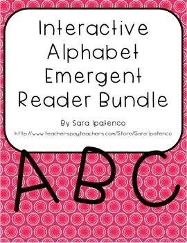 Emergent Easy Interactive Alphabet Reader Book Bundle: Let