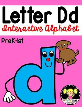 Interactive Alphabet {Letter Dd}