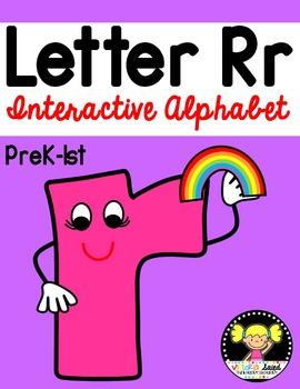 Interactive Alphabet {Letter Rr}