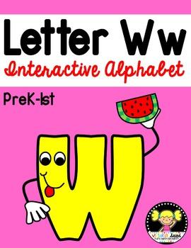 Interactive Alphabet {Letter Ww}