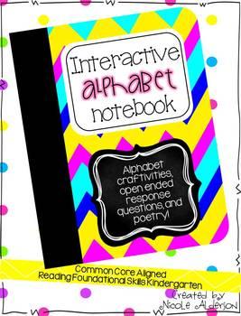 Interactive Alphabet Notebook ADD-ON