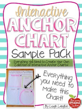 Interactive Anchor Chart SAMPLE Pack