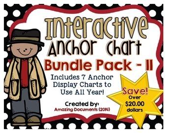 Interactive Anchor Charts - Reading Mega Bundle Pack - 2