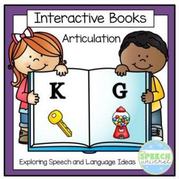 Articulation Interactive Books: K and G