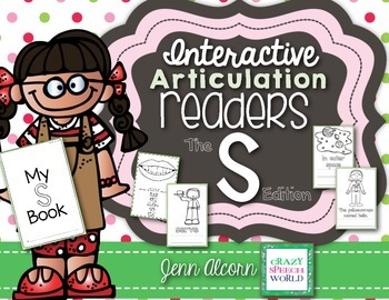 Articulation Homework  Readers for Speech Therapy (S Edition)