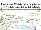 Interactive Audio QR Code Listening Center - Listen, Read,
