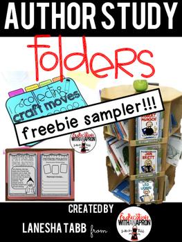 Author Study Folders FREE SAMPLE!