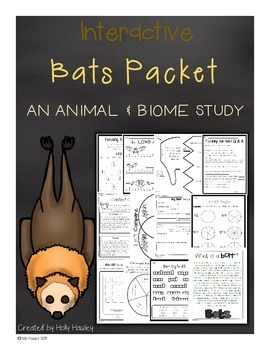 Interactive Bat Packet- an animal and biome study