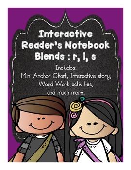 Interactive Blends for Reader's Notebook