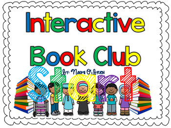 Interactive Book Club for Fiction and Nonfiction Books