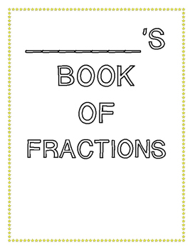Interactive Book of Fractions