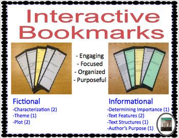 Interactive Bookmarks