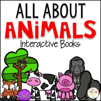 Interactive Books: All About Animals